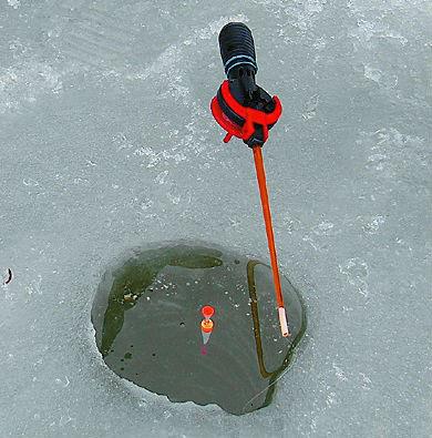 Зимняя удочка с поплавком